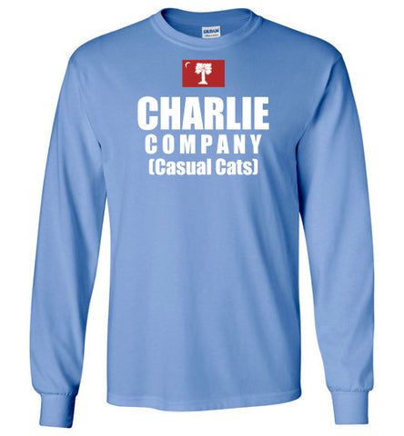 Charlie Company (Casual cats) Long Sleeve Shirts