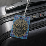 Class of 2004 Citadel Tartan Ring Bezel Luggage tag