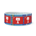 Big Red with Tartan Pet Bowl