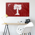 Big Red 3 X 5 Wall Flag