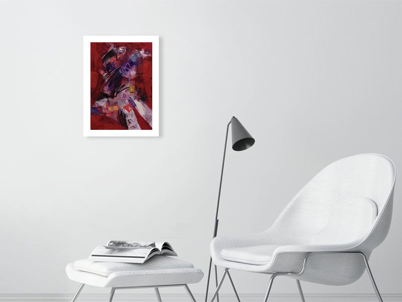 Rather Red Faced (Open Edition).- Giclée - Jay Taylor Studio