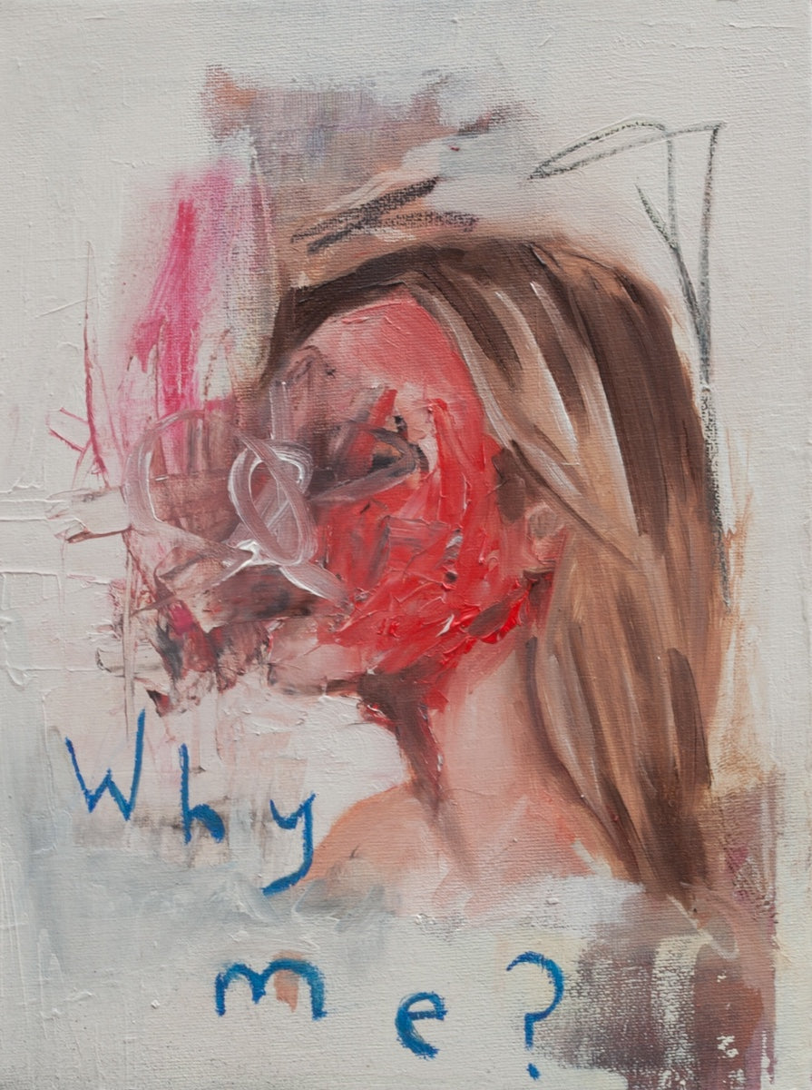 Why me?- Painting - Jay Taylor Studio