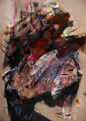 Destruction of Cool.- Painting - Jay Taylor Studio