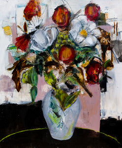 Flowers- Painting - Jay Taylor Studio