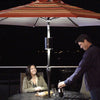 Koda LED Umbrella Patio Light with Solar Charging Panel - KODA™