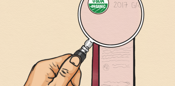 Decoding Organic Wine Labels