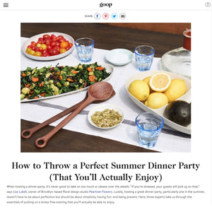 How to Throw a Perfect Summer Dinner Party (That You'll Actually Enjoy)