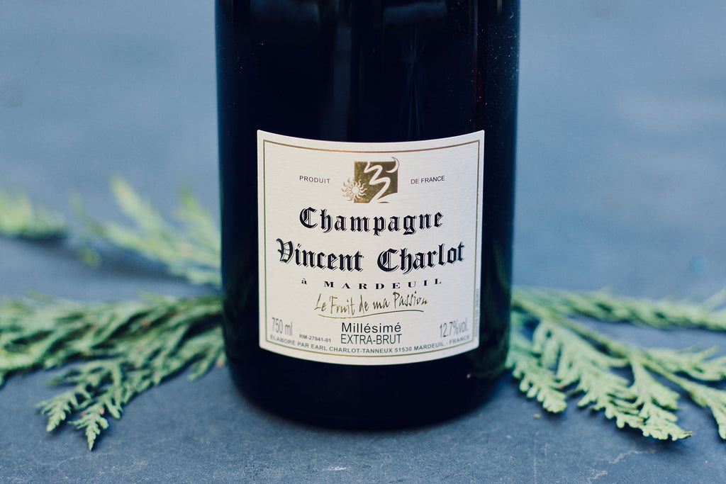 2013 Champagne Vincent Charlot 'Le Fruit de ma Passion' Extra Brut - Rock Juice Inc