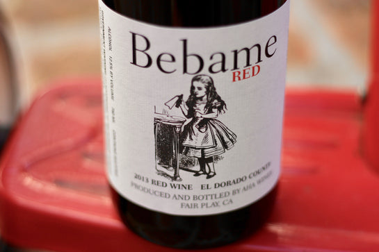 2013 Aha Wines 'Bebame' El Dorado County Red Wine - Rock Juice Inc
