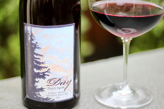 2014 Day Wines Pinot Noir Cancilla's Vineyard - Rock Juice Inc