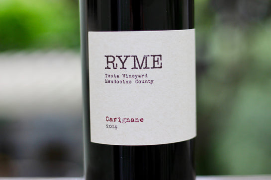 2014 Ryme Carignane Testa Vineyard - Rock Juice Inc
