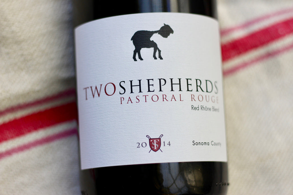 2014 Two Shepherds Pastoral Rouge - Rock Juice Inc