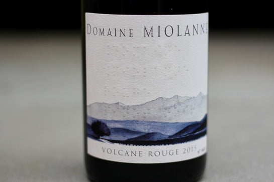 2015 Domaine Miolanne Volcane Rouge - Rock Juice Inc