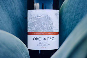 2015 Oro en Paz Lake County Semillon 'Lushinger Vineyard' - Rock Juice Inc