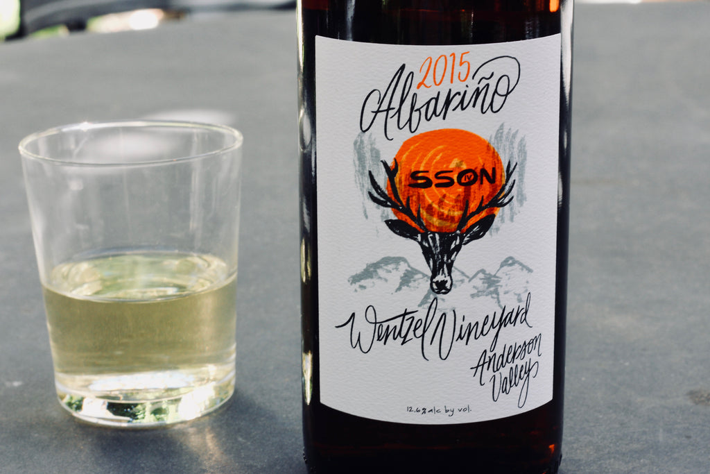 2015 SSON Albariño Wentzel Vineyard - Rock Juice Inc