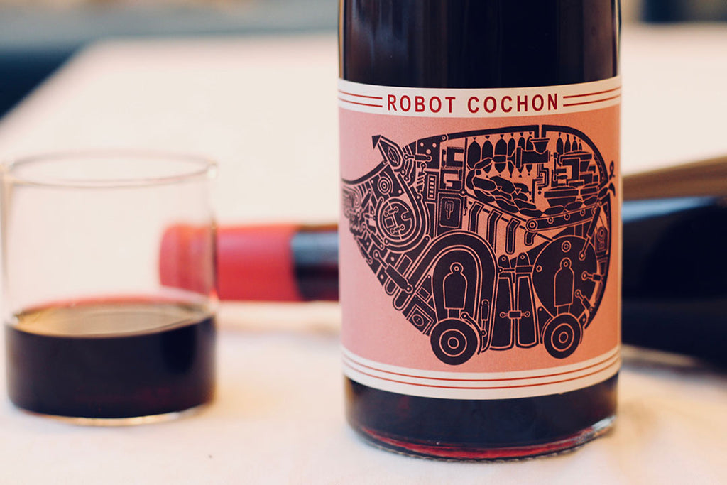 2016 Domaine Julie Benau 'Robot Cochon' - Rock Juice Inc