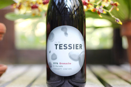 2016 Tessier Grenache Fenaughty Vineyard - Rock Juice Inc