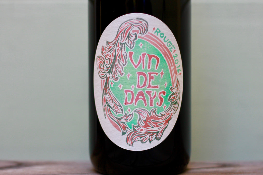 2016 Day Wines Vin de Days Rouge Pinot Noir - Rock Juice Inc