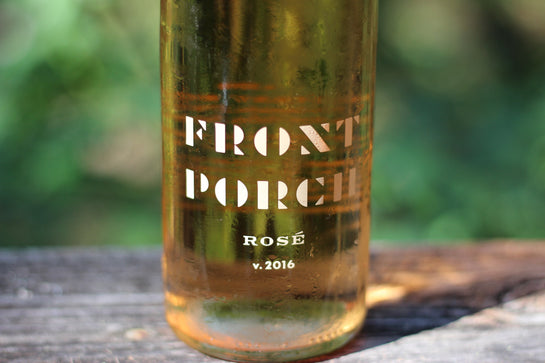 2016 Front Porch Farm Rosé - Rock Juice Inc