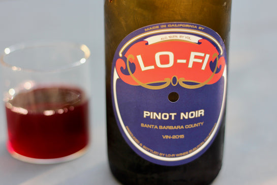2016 Lo-fi Pinot Noir - Rock Juice Inc
