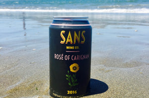 2016 Sans Rosé of Carignan, Poor Ranch Vineyard - Rock Juice Inc