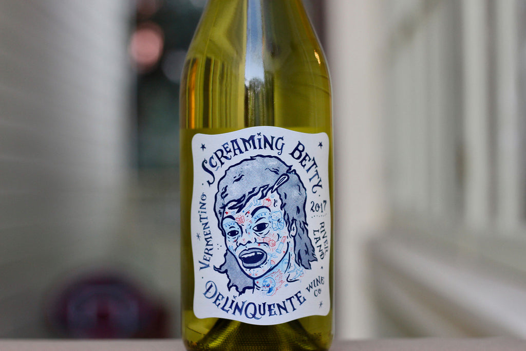 2017 Delinquente 'Screaming Betty' Vermentino - Rock Juice Inc
