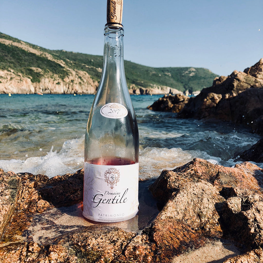 2017 Domaine Gentile Corse Rosé - Rock Juice Inc