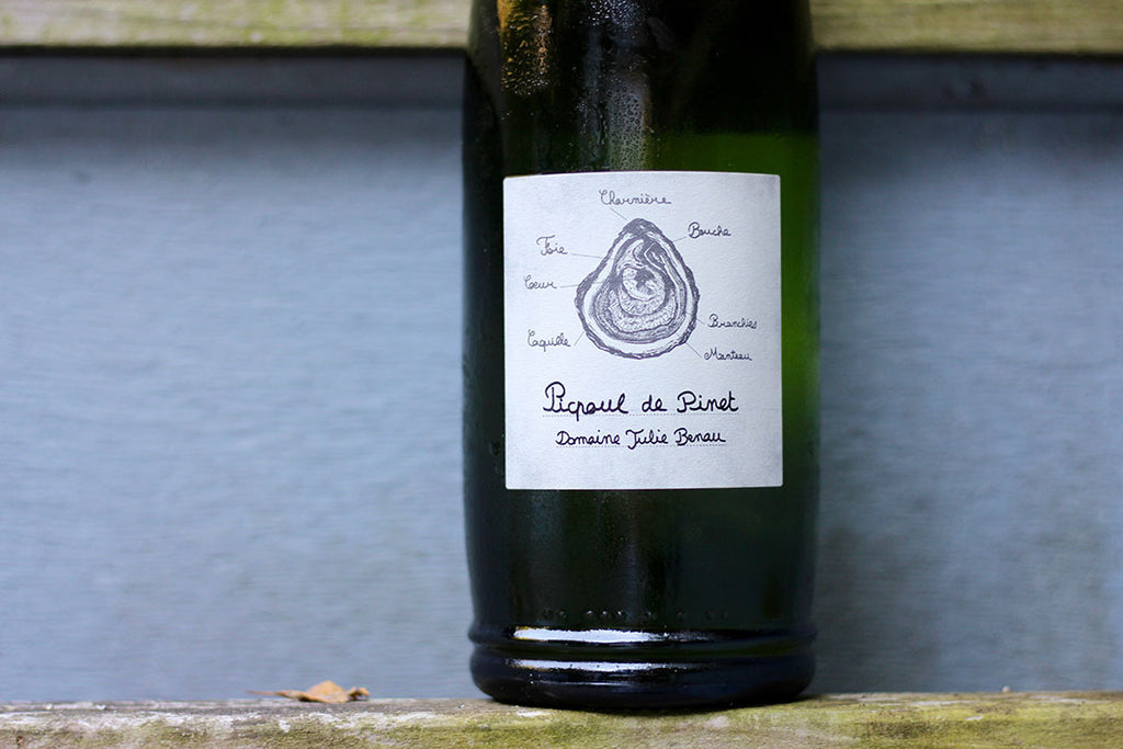 2017 Domaine Julie Benau Picpoul de Pinet - Rock Juice Inc