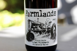 2017 Johan Vineyards 'Farmlands' Pinot Noir 00 - Rock Juice Inc