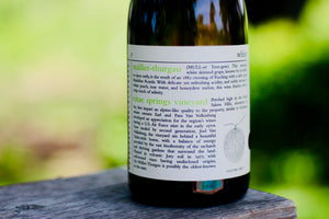 2017 Minimus Müller-Thurgau Vitae Springs Vineyard - Rock Juice Inc