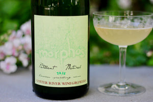 2017 Oyster River Winegrowers 'Morphos' Pétillant Naturel