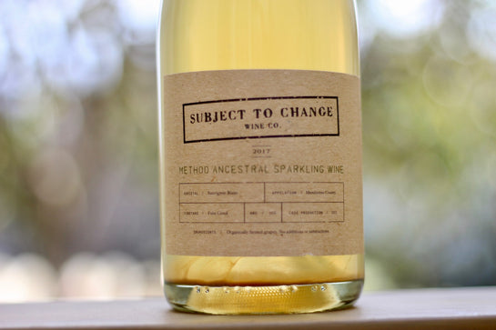 2017 Subject to Change Feliz Creek Method Ancestral Sparkling - Rock Juice Inc