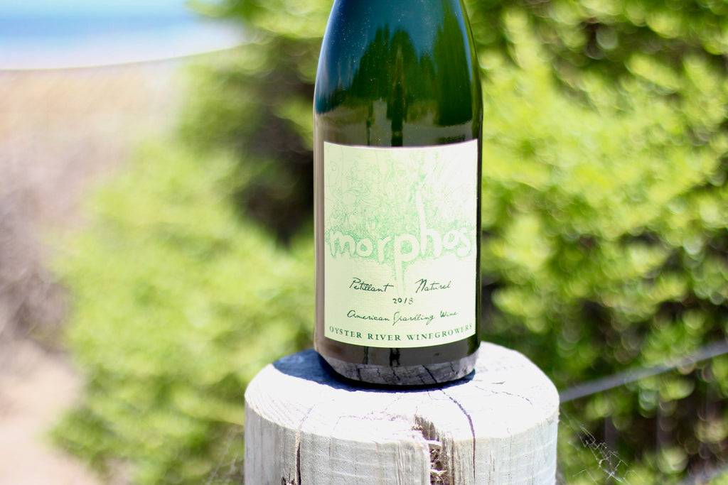 2018 Oyster River Winegrowers 'Morphos' Pétillant Naturel - Rock Juice Inc