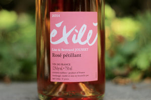 2014 Jousset Exilé Rosé Petillant Natural - Rock Juice Inc