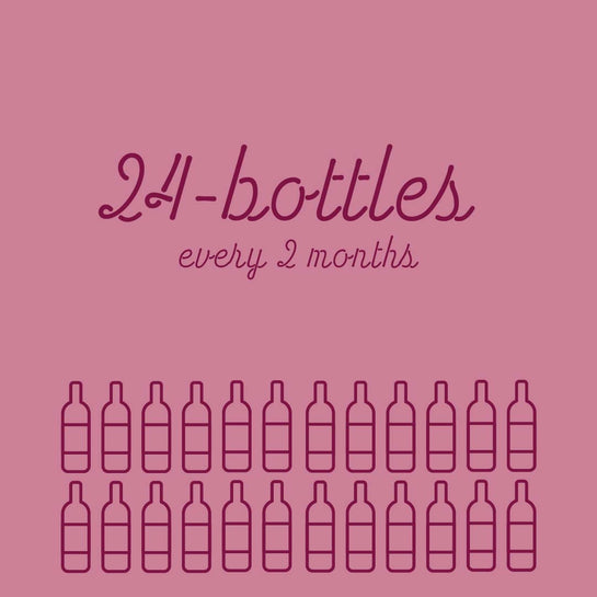 24-Bottles Every 2 Months - Rock Juice Inc
