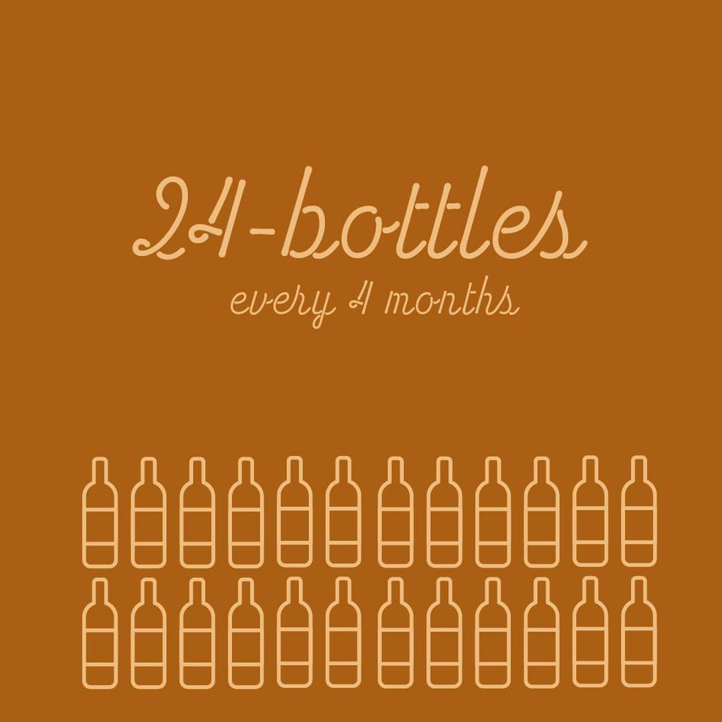 24-Bottles Every 4 Months - Rock Juice Inc