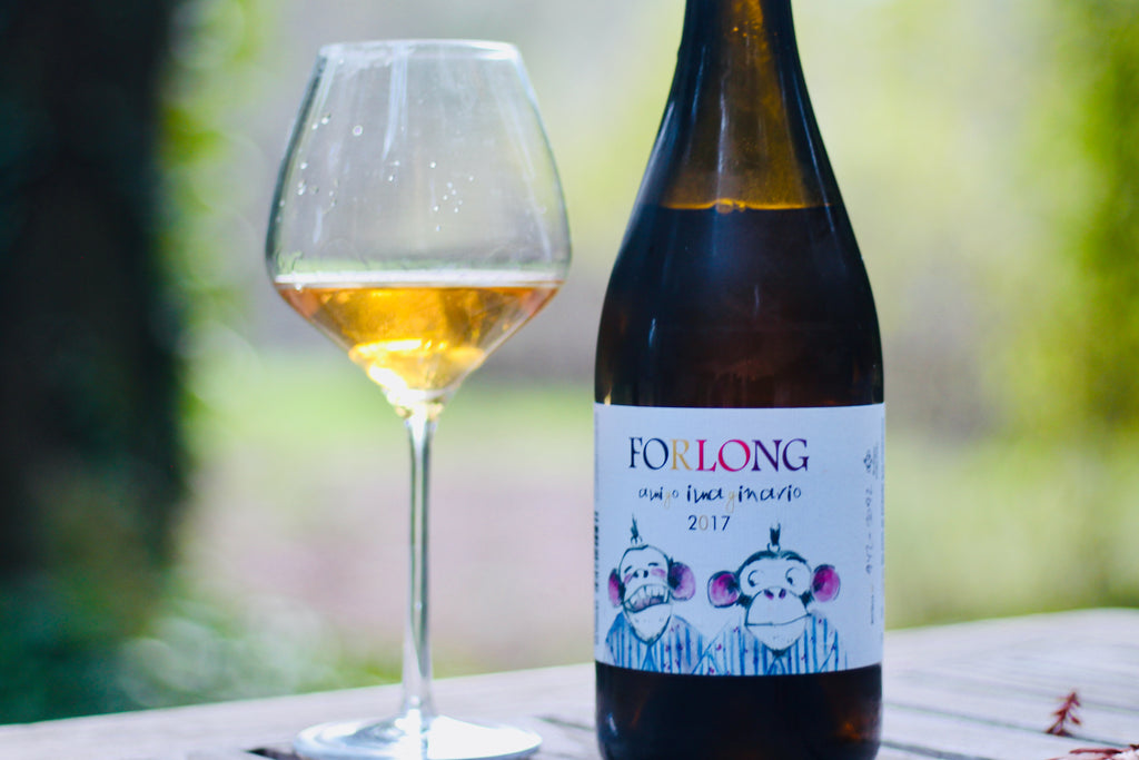 2017 Bodegas Forlong Blanco 'Amigo Imaginario' Orange