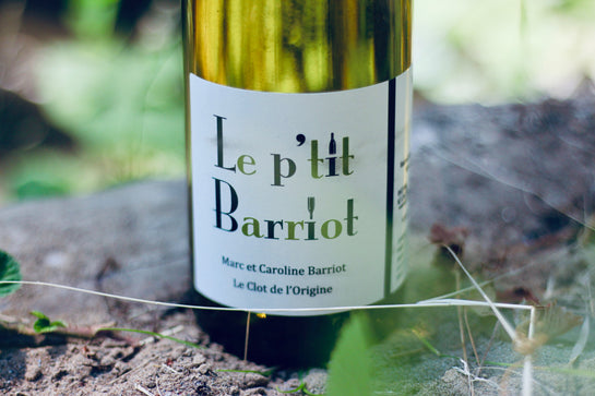 Clot de L'Origine 'Le P'tit Barriot' Blanc - Rock Juice Inc