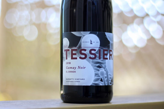 2018 Tessier Gamay Noir Barsotti Vineyard, El Dorado County - Rock Juice Inc