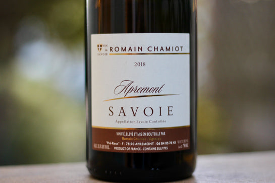 2018 Romain Chamiot Aprémont - Rock Juice Inc