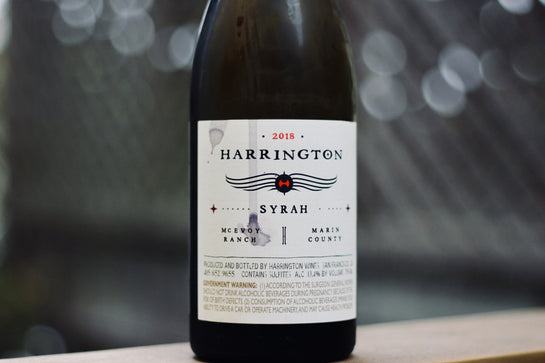 2018 Harrington Syrah McEvoy Ranch - Rock Juice Inc