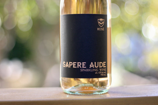 NV Sapere Aude Brut Rosé North Coast Sparkling Wine - Rock Juice Inc