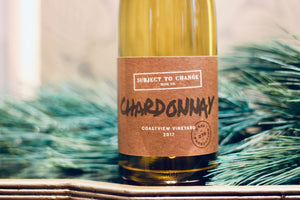 2017 Subject to Change Coastview Vineyard Chardonnay - Rock Juice Inc