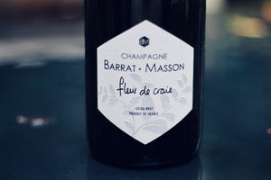 NV Champagne Barrat-Masson Blanc de Blancs Fleur de Craie - Rock Juice Inc