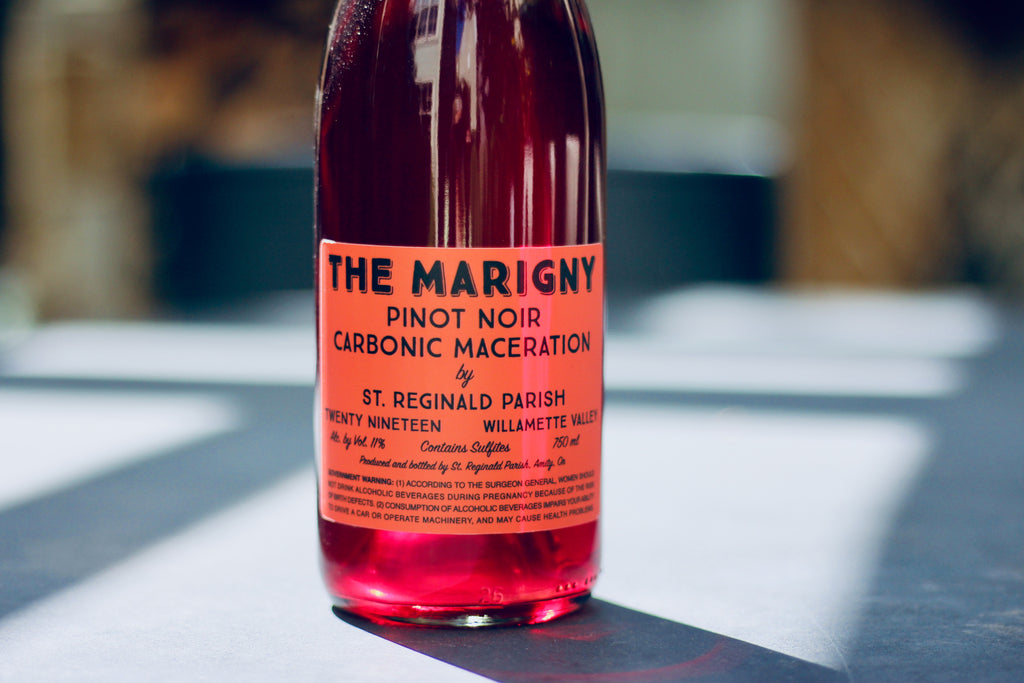 2019 St. Reginald Parish The Marigny Carbonic Pinot Noir - Rock Juice Inc