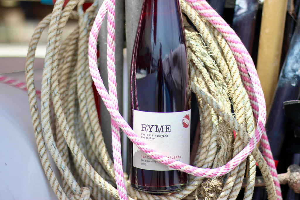 2019 Ryme Sangiovese/Friulano Fox Hill Vineyard