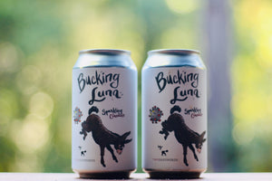 2019 Two Shepherds 'Bucking Luna' Sparkling Cinsault CANS 375ml 2-pk