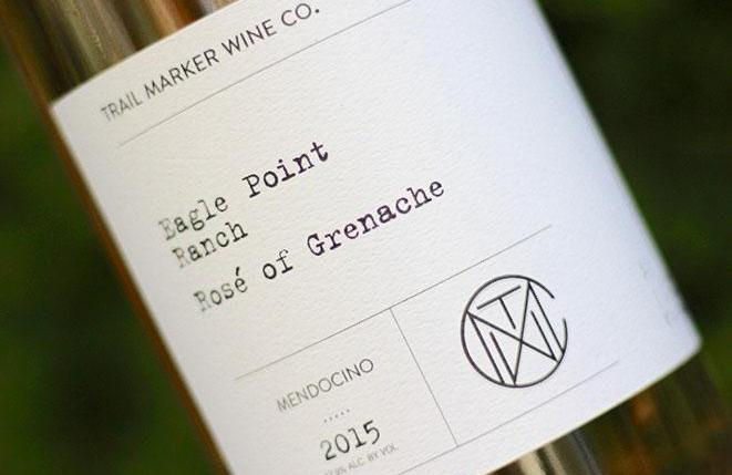 2015 Trail Marker Rosé of Grenache, Eagle Point Ranch Vineyard