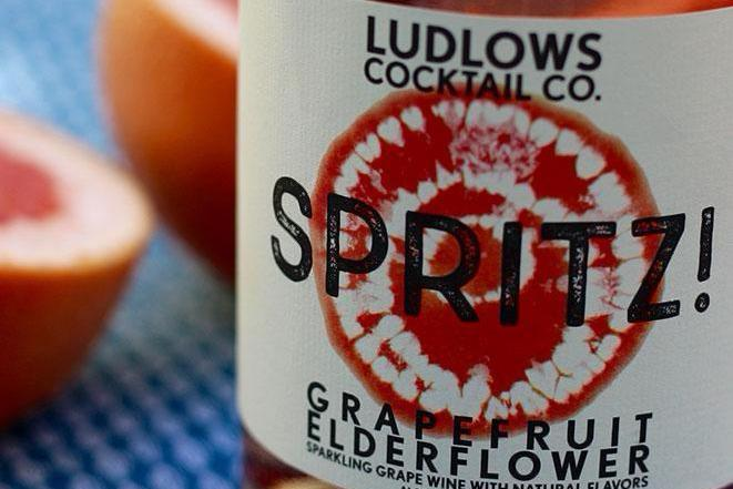 Ludlow Cocktail Co. Grapefruit Elderflower Spritzer