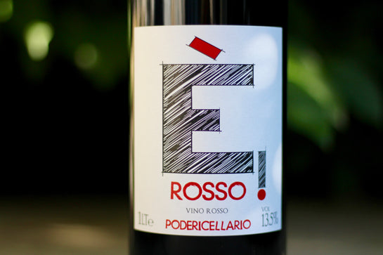 2013 Poderi Cellario Rosso (1L) - Rock Juice Inc